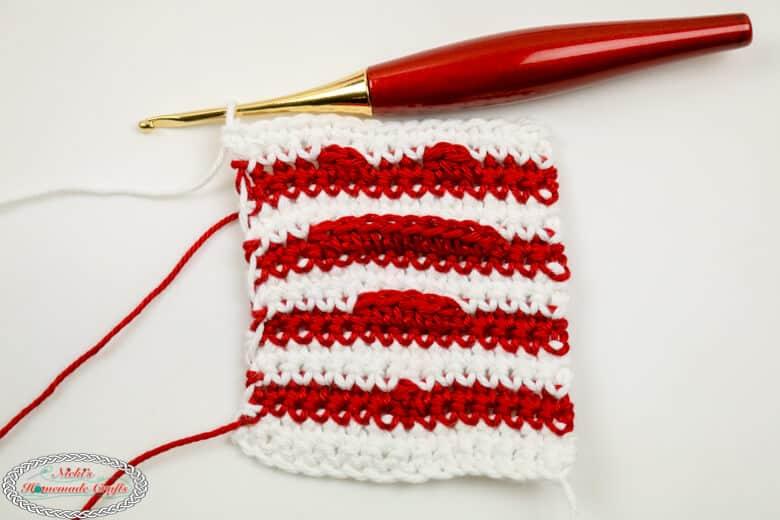 Heart Shadow Crochet aka Illusion Crochet