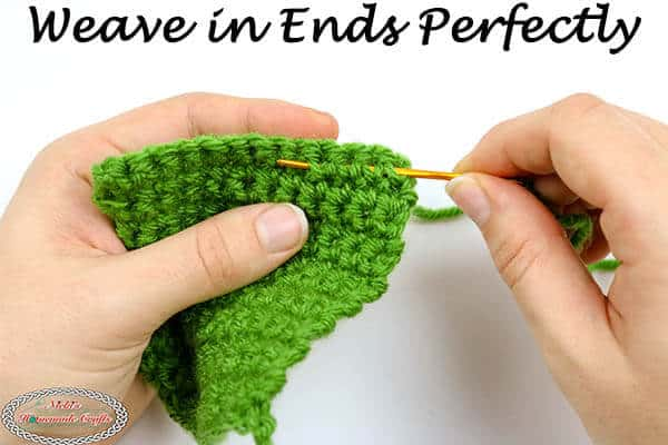 How to easily Weave in Ends Perfectly on Crochet Projects