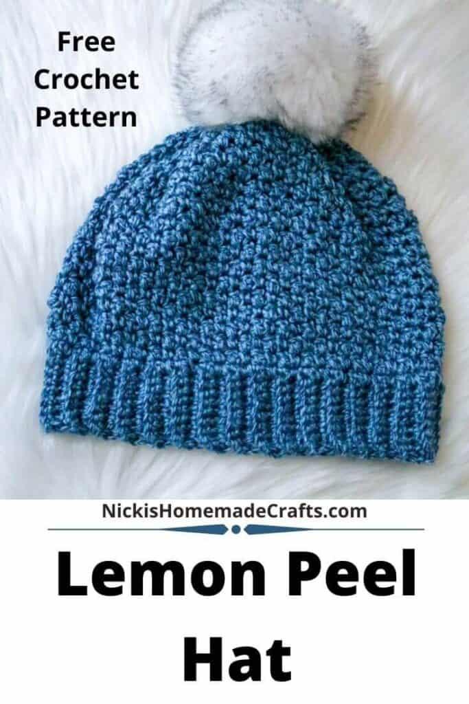 Crochet Lemon Peel Hat