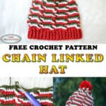 Chain Linked Hat - Free Crochet Pattern
