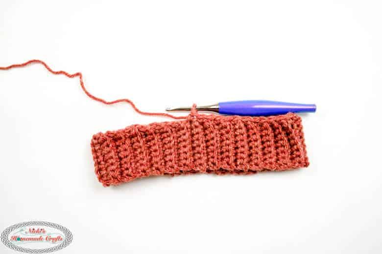 crochet ribbing for hats bottom up tutorial