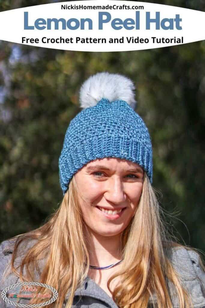 Lemon Peel Hat - Free Crochet Pattern