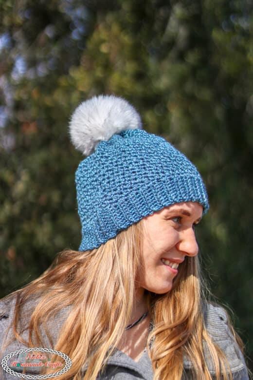 Lemon Peel Hat Crocheted