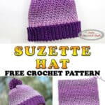 Crochet the Suzette Hat - Free Pattern
