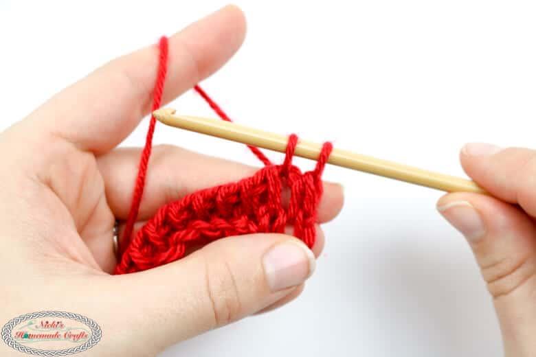 crocheting the Tunisian Full Stitch