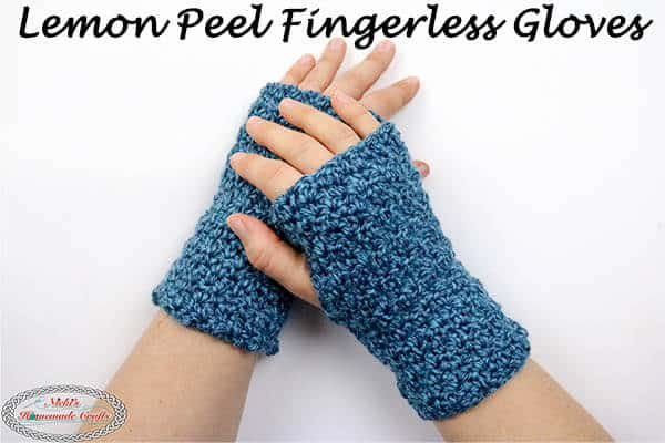 Crochet Fingerless Gloves easily - Free Pattern