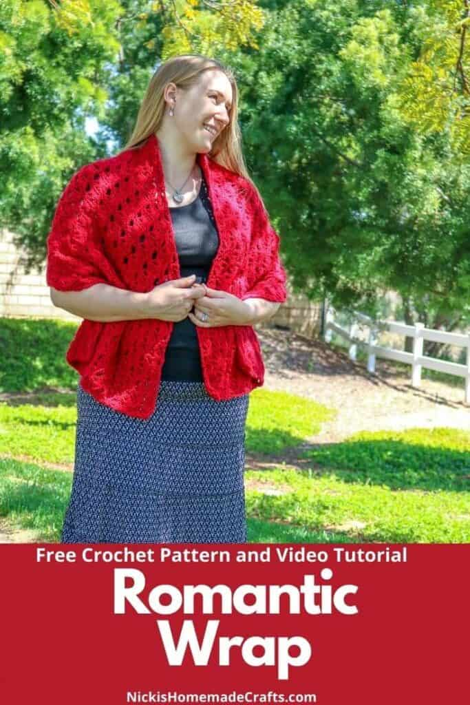 Romantic Wrap Crochet Pattern