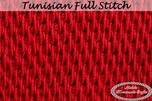 Crochet Tunisian Full Stitch Tutorial