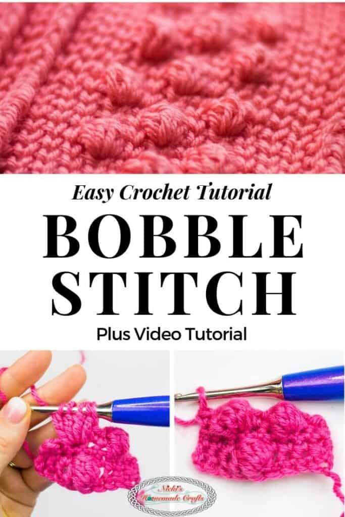 Bobble Stitch Easy Crochet Tutorial