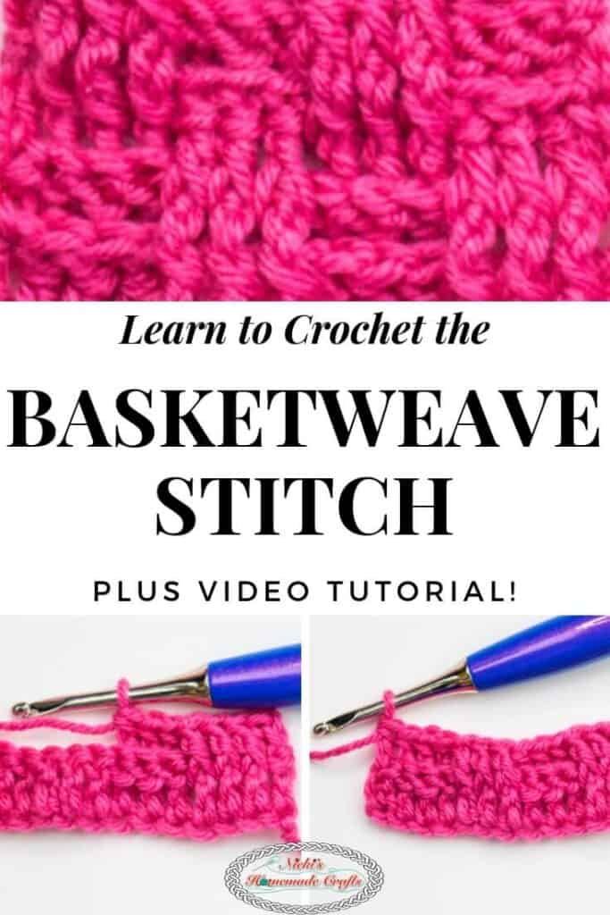 Basketweave Stitch Crochet Tutorial