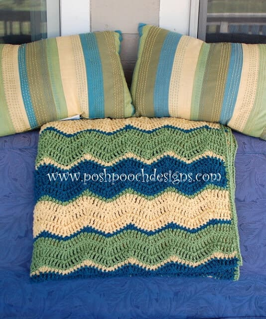 Triple Chevron Blanket