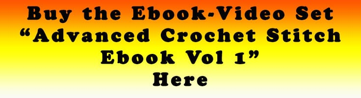 Advanced Crochet Stitch Ebook with Videos