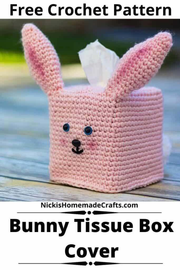 Bunny Tissue Box Cover Pattern