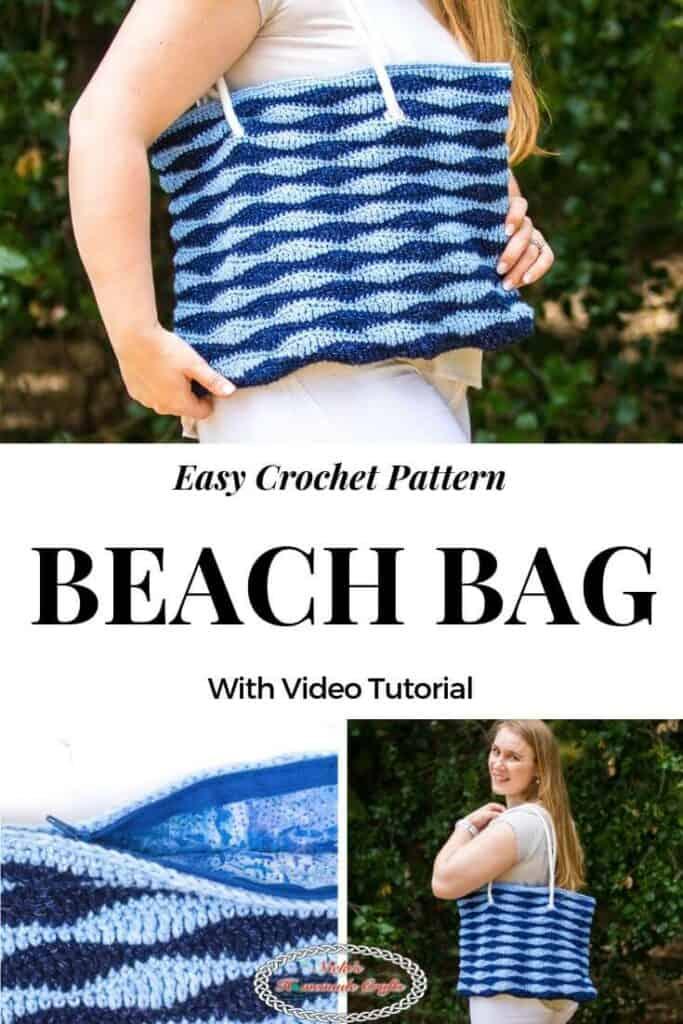 Easy Beach Bag Crochet Pattern