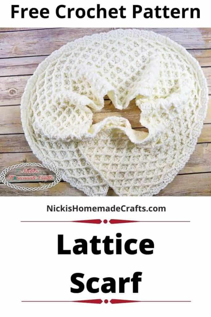 Lattice Scarf Pattern