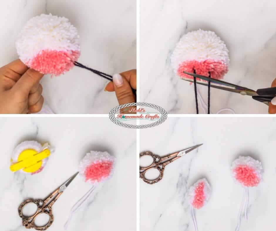 Unicorn Pom-Pom Clover Free DIY Tutorial Step 3