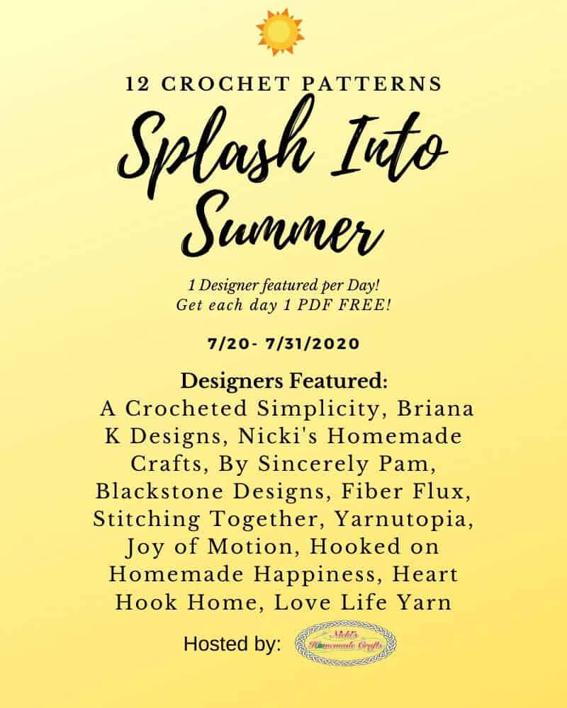 Splash into Summer 12 Free Crochet Patterns