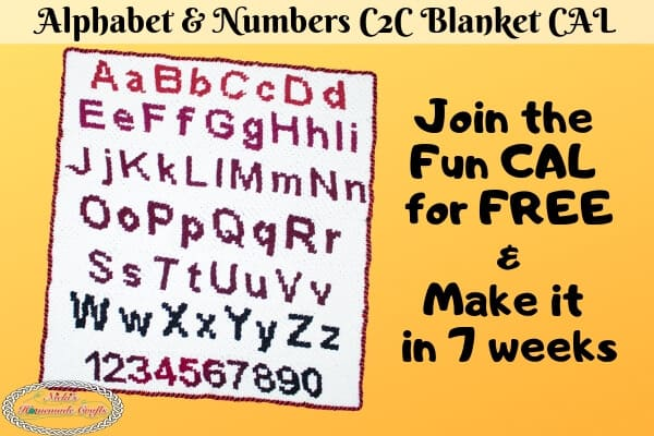 Alphabet and Numbers CAL - Free Crochet Pattern (1)