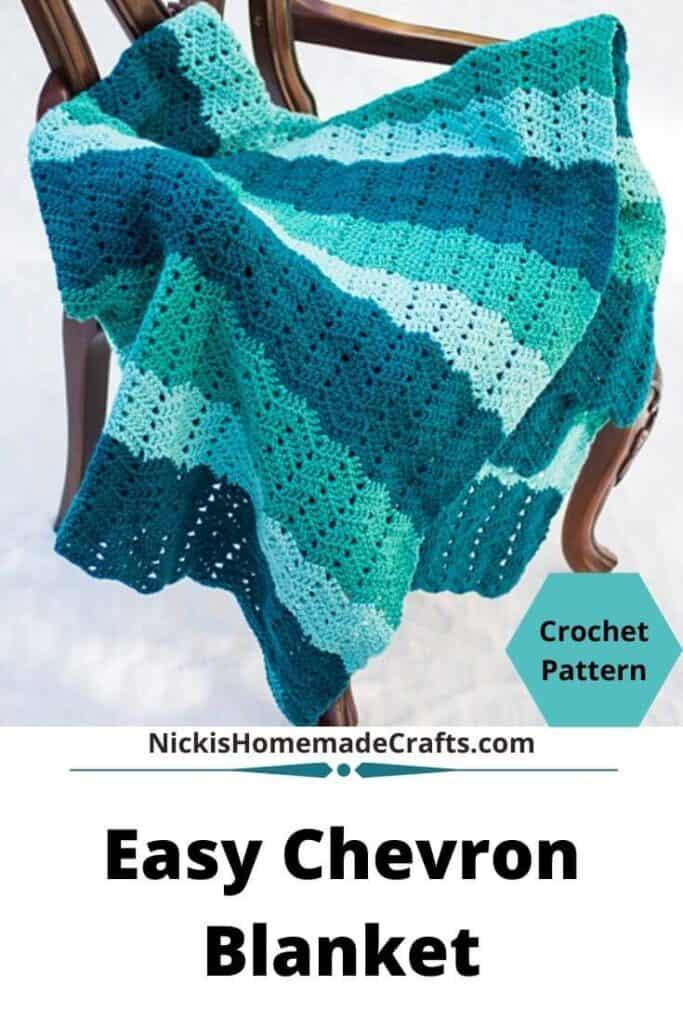 Easy Chevron Blanket Pattern