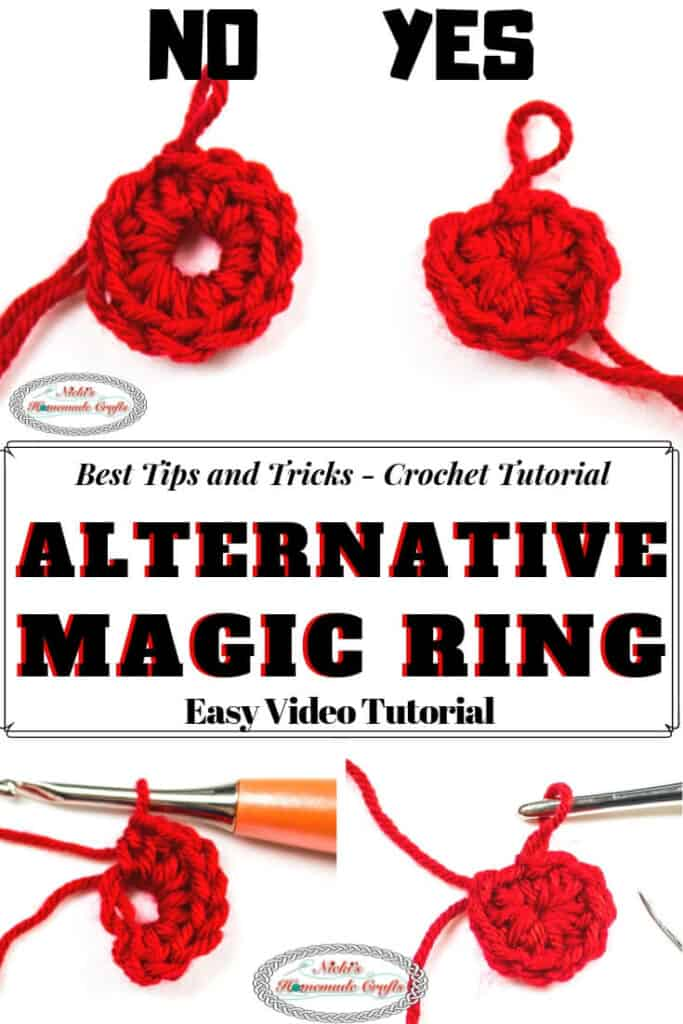 Alternative Magic Ring- Loop