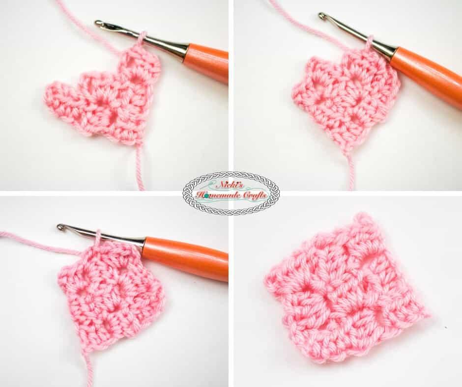 Corner to Corner in Half Double Crochet Part 3
