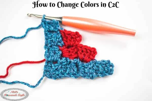 How to Change Colors in Corner to Corner -C2C