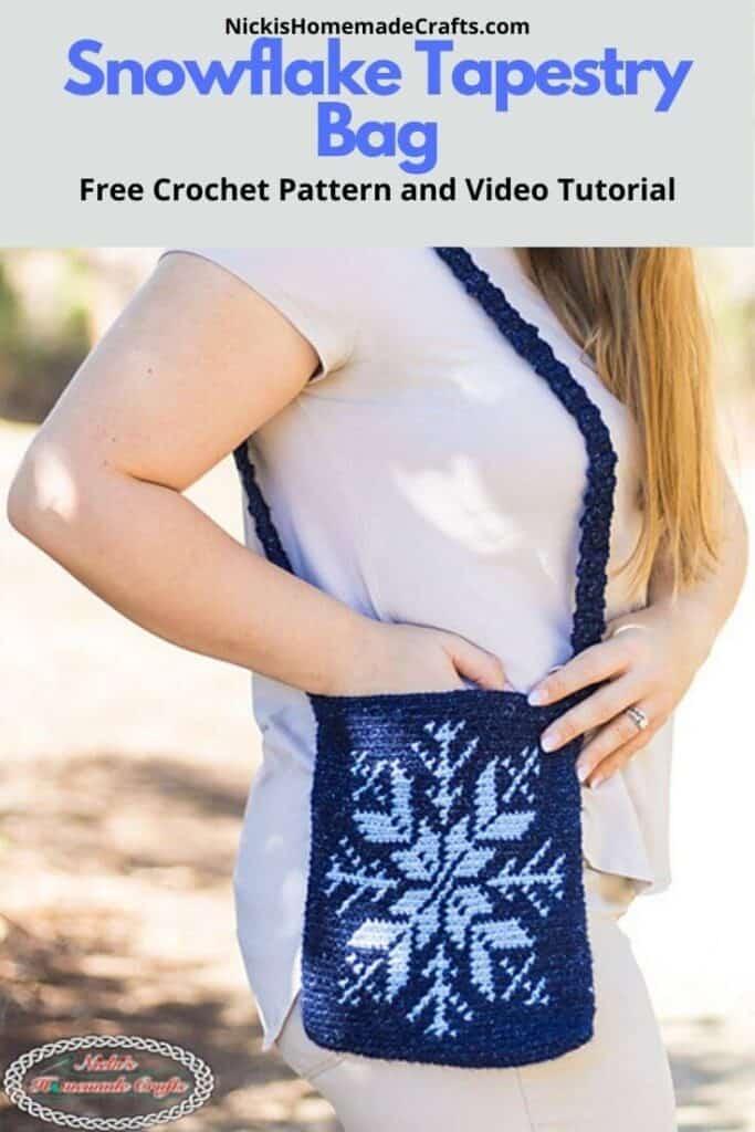 Snowflake Bag Crochet Pattern