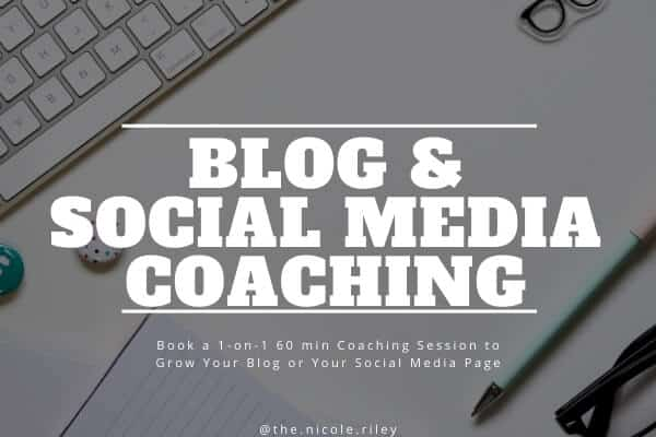 Blog and Social Media Coaching