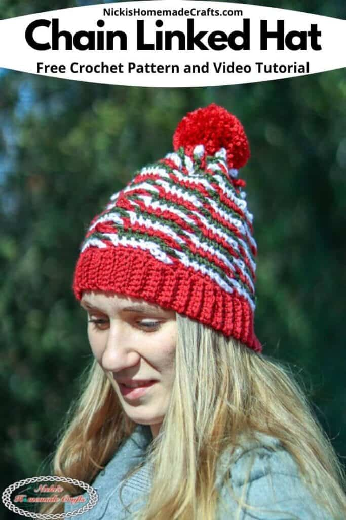 Chain Linked Hat Crochet Pattern