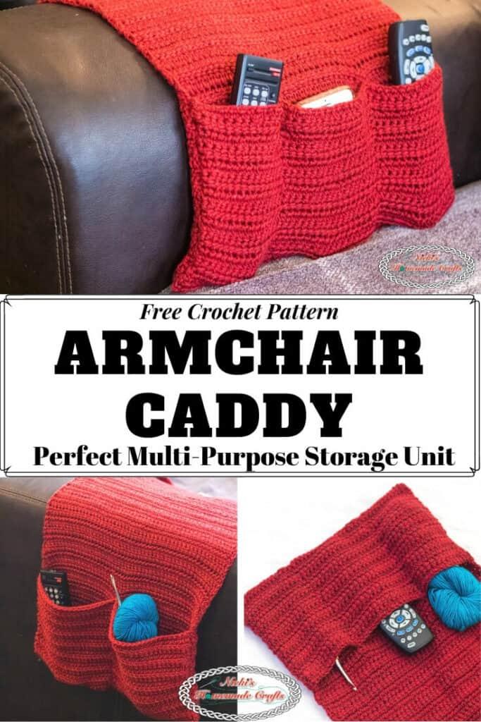 Armchair Caddy - Free Crochet Pattern