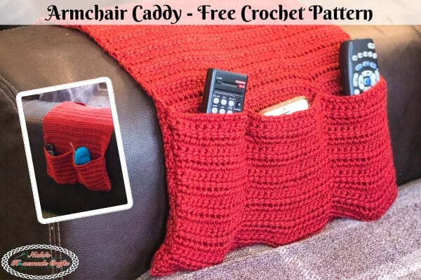 Armchair Caddy crochet pattern free