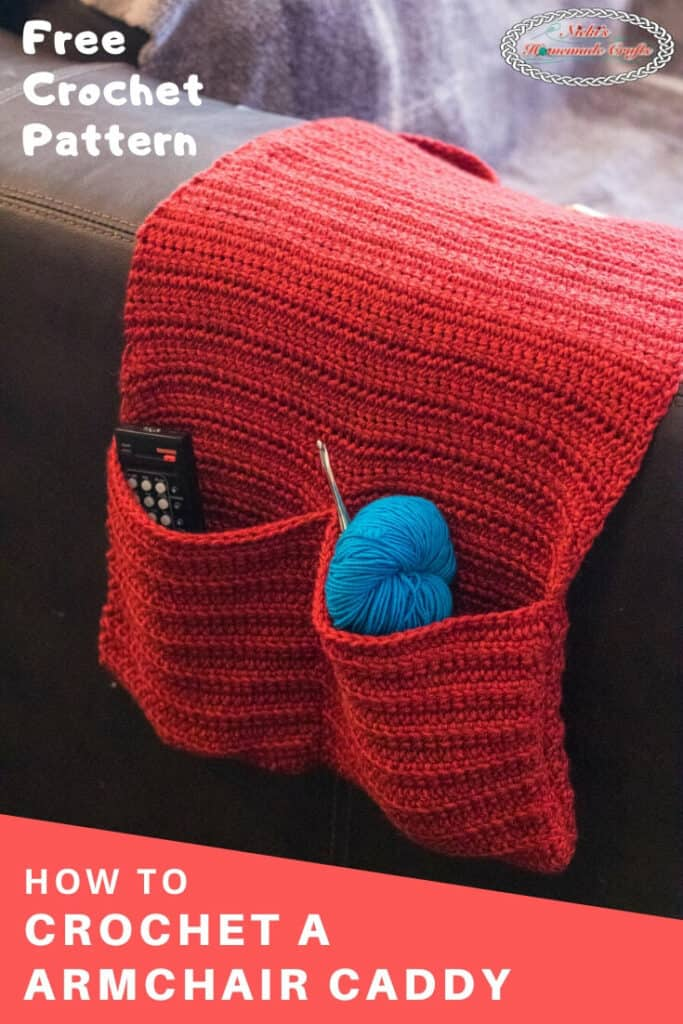 Crochet Armchair Caddy