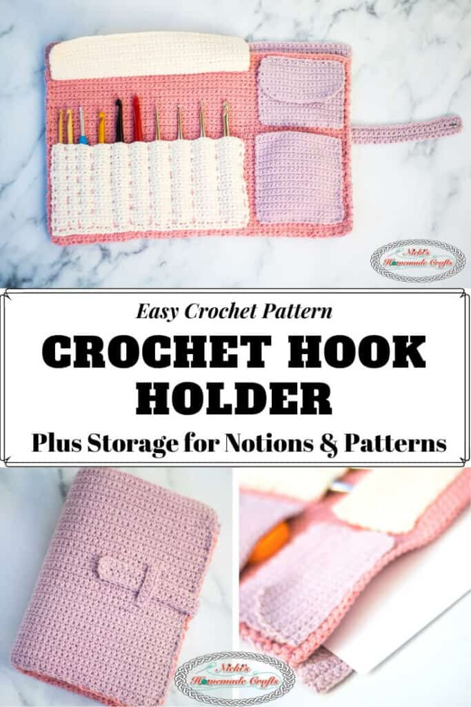 Crochet Hook Holder - Crochet Pattern