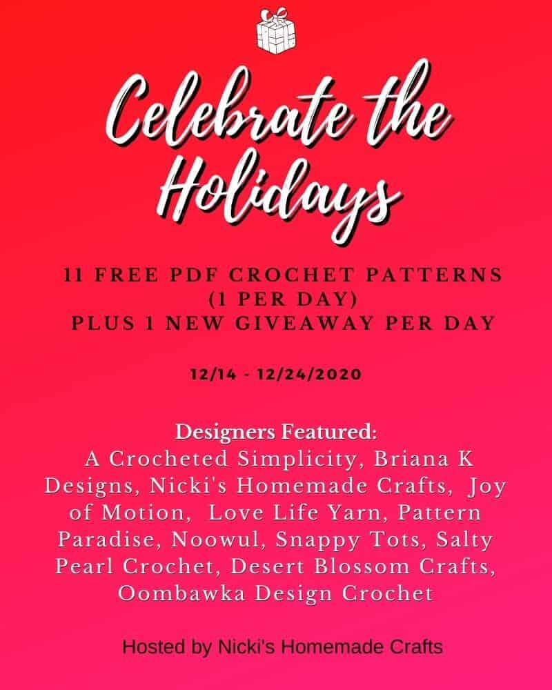 Celebrate the Holidays 11 Free Crochet Patterns