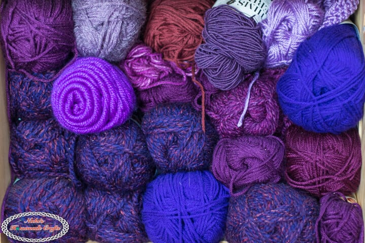 Organize Yarn the Right Way - Yarn Color