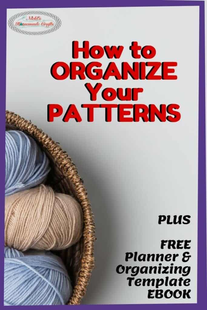 Organize your Patterns 5 ways free ebook