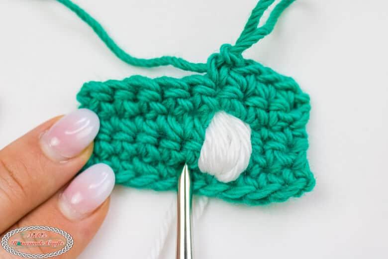 Crochet Bunny tail
