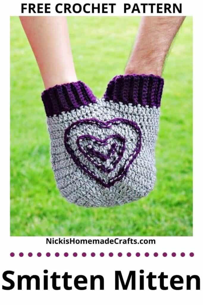 Crochet Smitten Mitten Pattern