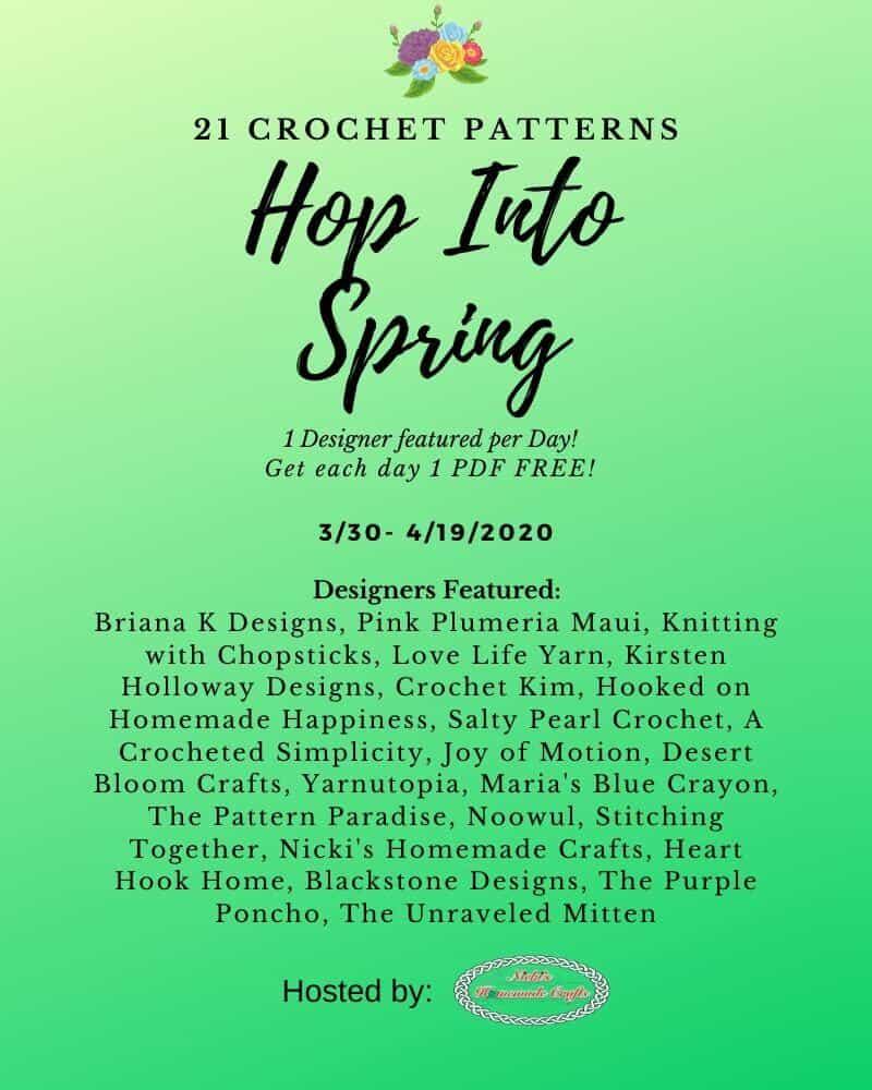 Hop into Spring --- 21 Free Crochet Patterns