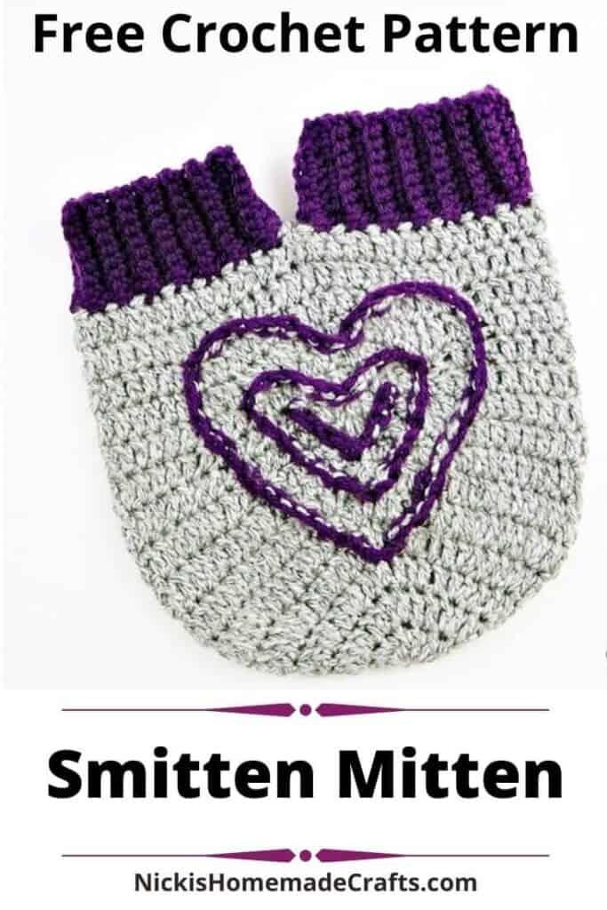 Smitten Mitten - Free Crochet Pattern
