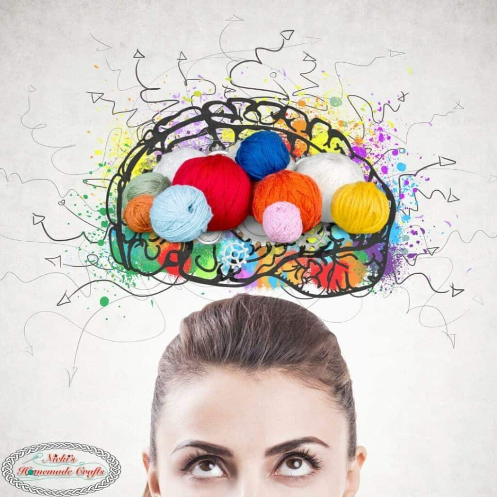 yarn in brain
