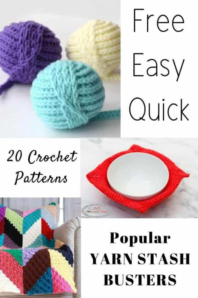 Yarn Stash Buster Crochet Patterns