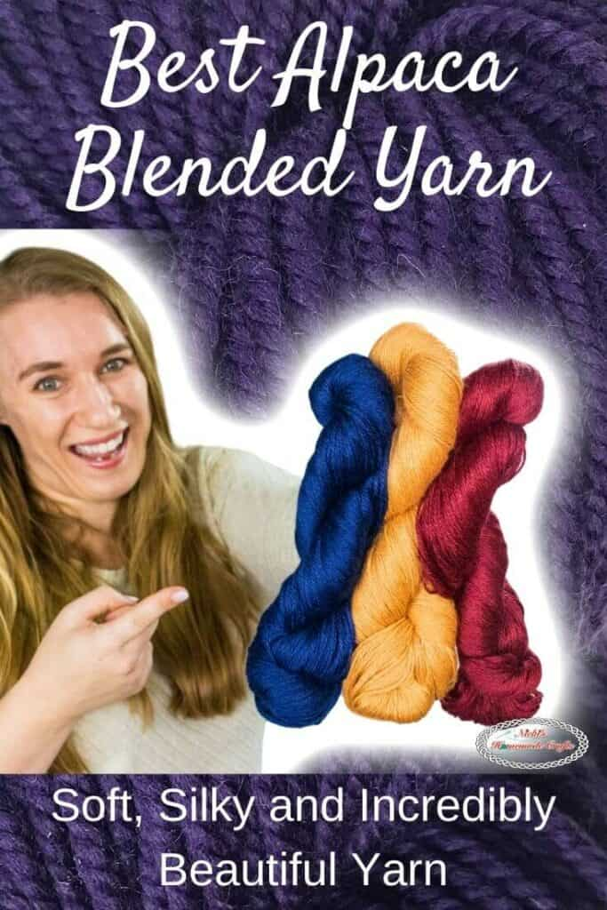 Best Alpaca Blended Yarn by WeCrochet plus Crochet Patterns