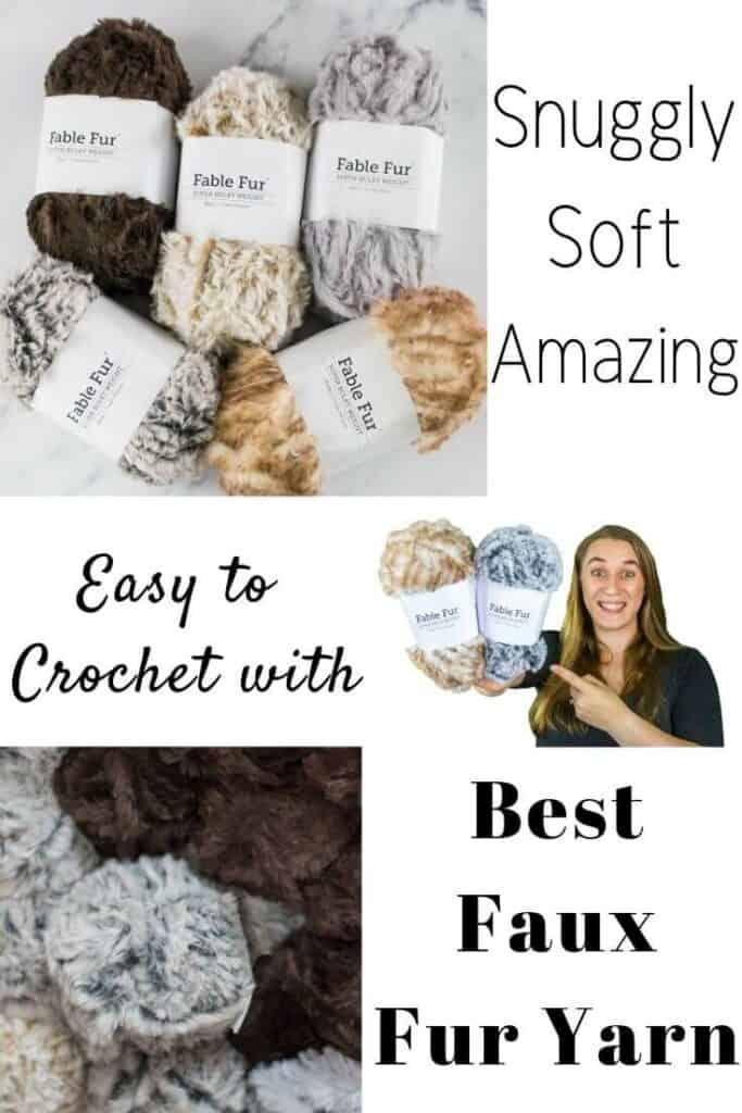 Best Faux Fur Yarn by WeCrochet plus Crochet Patterns