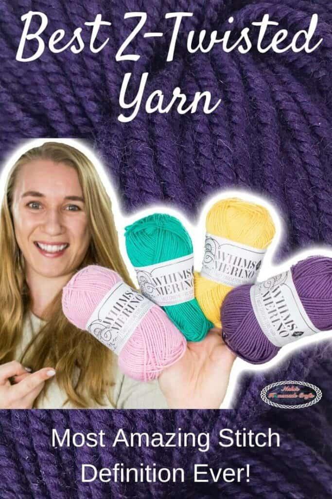 Best Z-Twisted Yarn by WeCrochet plus Crochet Patterns