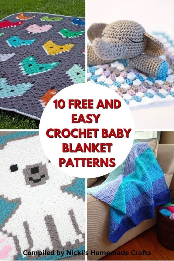 Baby Blanket - Crochet Pattern Collection