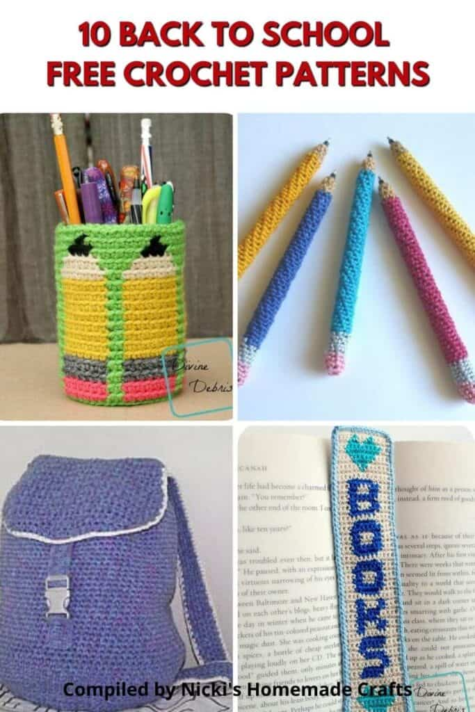 Back to School - Crochet Pattern Collection