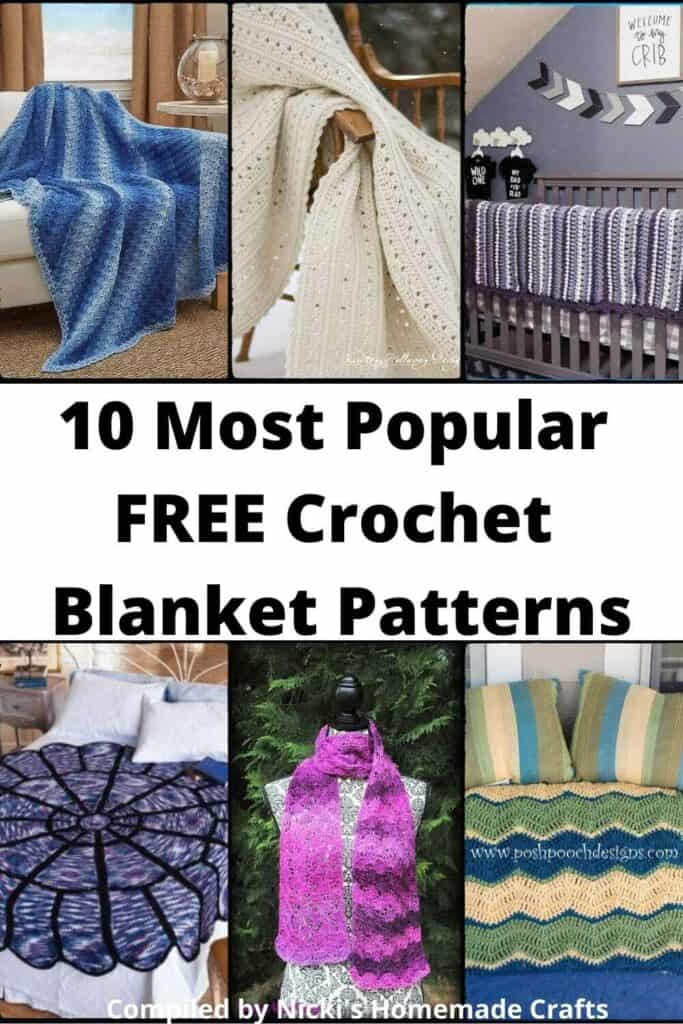 Blanket Crochet Pattern Collection