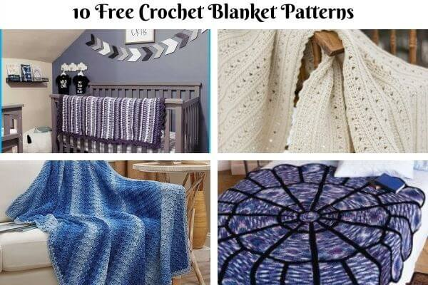 Blanket Crochet Pattern Collection Cover