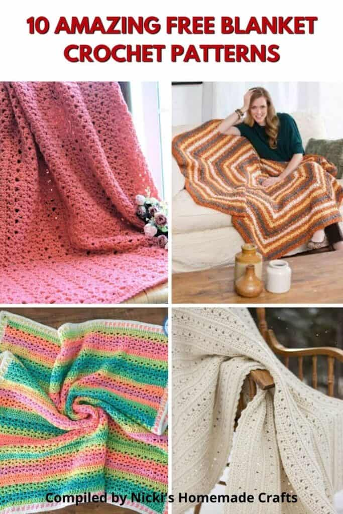 Blanket Free Crochet Pattern Collection